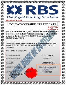 Royal Bank of Scotland. Analise de Fraudes Online (Phishing Scam)
