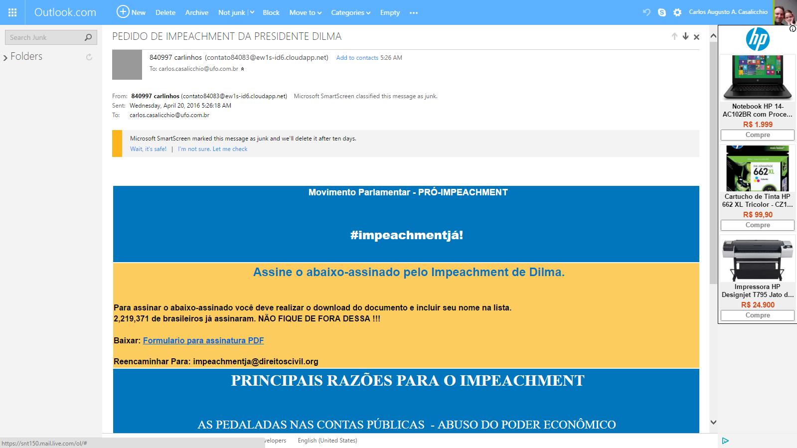 Ccasalicchio autor em carlos casalicchio pgina 5 de 6 analise de fraudes online phishing scam fandeluxe Gallery