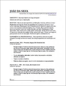Modelo de Formato de Currículo - 5 dicas para formatar seu currículo e aumentar suas chances de entrevista