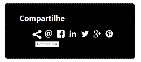 Criando um widget de compartilhamento somente com CSS e SVG