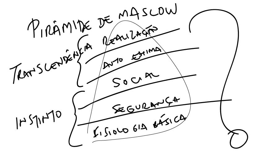 Piramide de Maslow Seleção Natural ou Artificial?