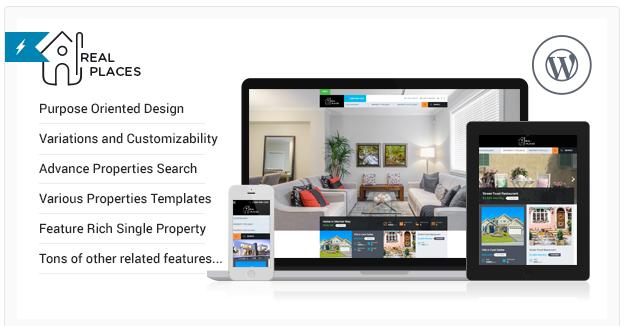 Pacote de Idioma para Tema WordPress Real Places 1.4.0